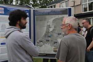 De poster over het Nederlandse meteoren- en meteorietenonderzoek
